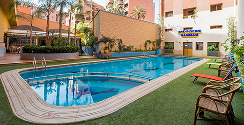 hotel piscine marrakech